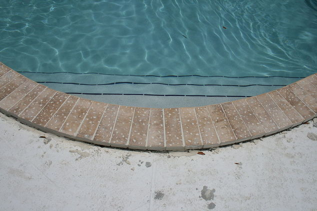 Pool Coping Installation