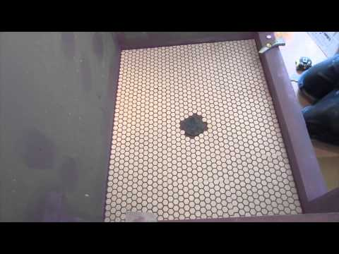 Bathroom Floor Installation