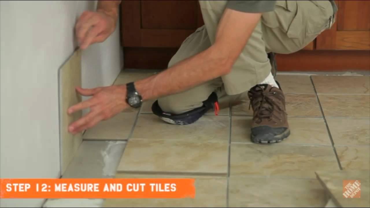 Floor Tile Installation Project